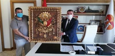 Başkan Özdemir'e Yatırımcı Ziyaret