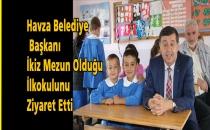 Başkanı İkiz Mezun Olduğu İlkokulunu Ziyaret Etti