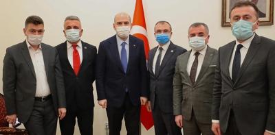 Başkanlar, Ankara'da Bir Dizi Ziyaret Gerçekleştirdiler