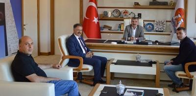 Belediye Başkanı Deveci'den, Özdemir'e Ziyaret