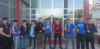 Bilek Güreşinde, Samsun'da Havza Rüzgarı Esti
