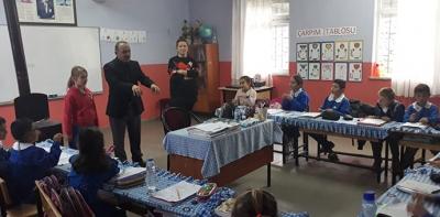 Birleştirilmiş Sınıflı Okulları Ziyaret Etti