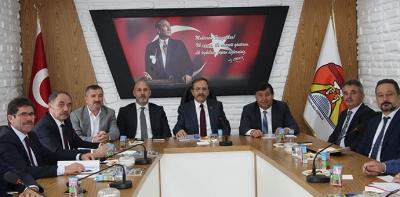 Büyükşehir Belediye Başkanı Zihni Şahin Havza'da