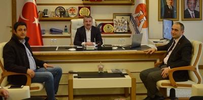 Çakır'dan Başkan Özdemir'e Ziyaret