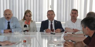 CHP Havza İlçe Başkanlığında Bayramlaşma