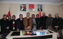CHP Havza İlçe Başkanlığında Görev Dağılımı Yapıldı