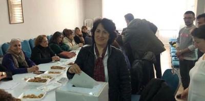 CHP Havza İlçe Örgütü Kadın Kolları Başkanını Seçti