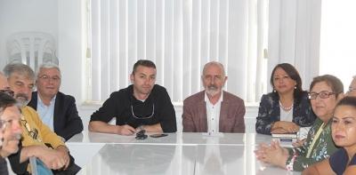 CHP Havza İlçe Teşkilatında İstişare Toplantısı
