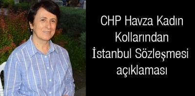 CHP Havza Kadın Kollarından İstanbul Sözleşmesi açıklaması