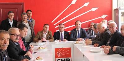 CHP İlçe Danışma Toplantısı Yapıldı