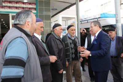 CHP Milletvekili Kemal Zeybek Esnaf Ziyareti Düzenledi