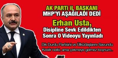 Erhan Usta, Kesilir belki, ama çekmeye gelmez boynum