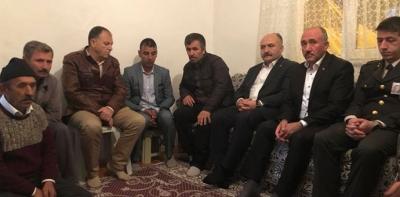 Erhan Usta, Şehit Ailesini Ziyaret Etti
