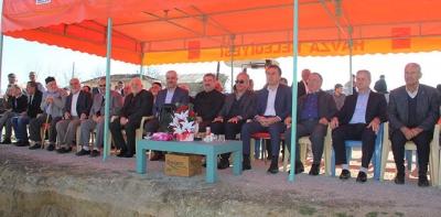 Erikbelan Mahallesinde Yeni Caminin Temeli Atıldı