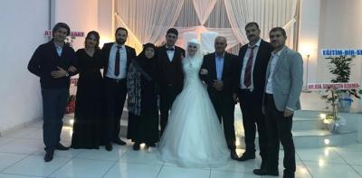 Ertaş ve Karaçoban Ailelerinin Mutlu Günü