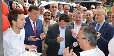 Eski Başkan Murat İkiz, Avukatlık Bürosu Açtı