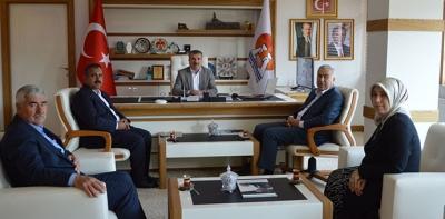 Eski Vekil Demir'den Başkan Özdemir'e Ziyaret