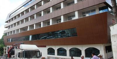 Fizik Tedavi Ve Uygulama Oteli İnşaatı Tamamlandı