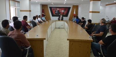 Galerici Esnaflarından Belediye Başkanı Özdemir'e Ziyaret