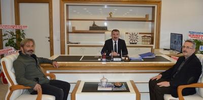 Gazetemizden Başkan Özdemir'e Ziyaret
