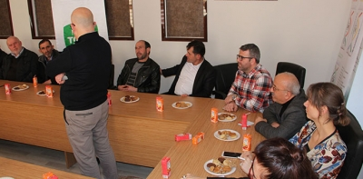 Gübre Satıcılarına Bilgilendirme Toplantısı