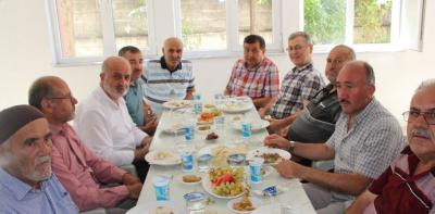 Hac'dan Dönen Hacılar Mevlit Düzenledi