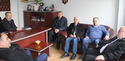 Hadef'ten Gazetemize ziyaret