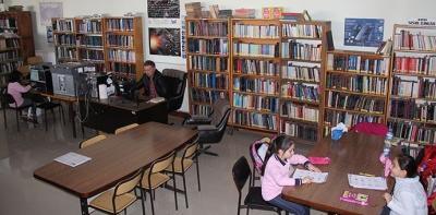 Halk Kütüphanesinde 10 Bin 294 Kitap Emanete Verildi