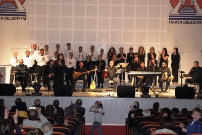 Halk Müziği Konseri Düzenlendi