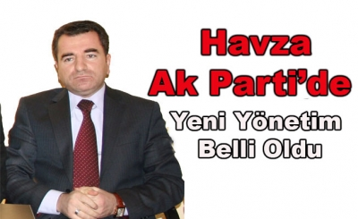 Havza Ak Parti İlçe Yönetimi Belirlendi