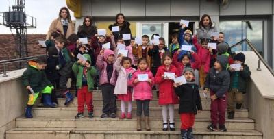 Havza Anaokulu PTT'yi Ziyaret Etti
