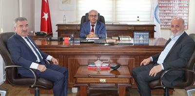 Havza Belediye Başkanı Özdemir İlçe Müftülüğü Ziyaret Etti