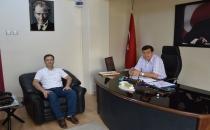 Havza Belediye Başkanı Murat İkiz'e Ziyaret