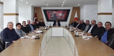 Havza Belediye Meclis Toplantısı Yapıldı