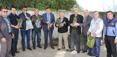 Havza Belediyesi Ücretsiz Fidan Dağıttı