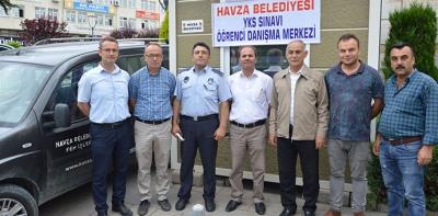 Havza Belediyesi YKS Adaylarına Araç Tahsis Etti