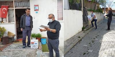 Havza CHP Yönetimi Yardımları Sahiplerine Ulaştırdı