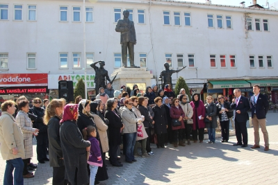 Havza CHP'den Kadınlar Gününe Özel Tatlı