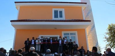Havza Emiruşağı Cami İbadete Açıldı