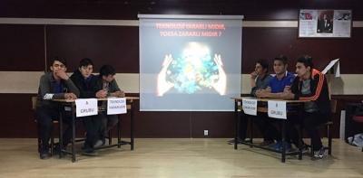 Havza EML'de Münazara Programı Düzenlendi