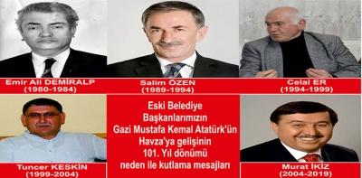 Havza Eski Başkanlardan 25 Mayıs Mesajları- Video Haber