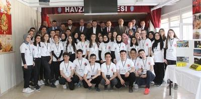 Havza Fen Lisesinde 4006 TÜBİTAK Bilim Fuarı Açıldı