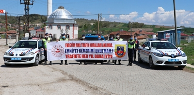 Havza Jandarmadan, Trafik Haftası Etkinliği