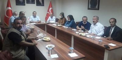 Havza MHP İlçe Yönetimi İlk Toplantısını Yaptı