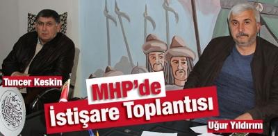 Havza MHP'de İstişare Toplantısı Yapıldı