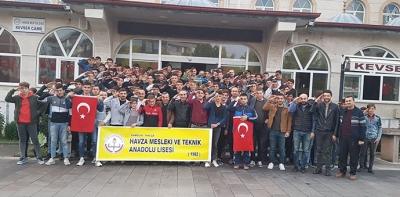 Havza MTAL, Sabah Namazında Mehmetçik İçin Dua Etti