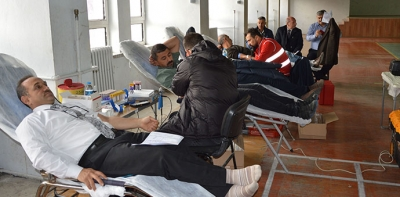 Havza MTAL'den Kan Bağışı Etkinliği