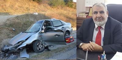 Havza Müftüsü Trafik Kazasında Yaşamını Yitirdi