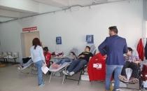 Havza MYO'da Kan Bağışı Çalışmaları