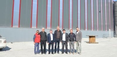 Havza OSB'de İlk Üretim Aralık Ayında Başlıyor